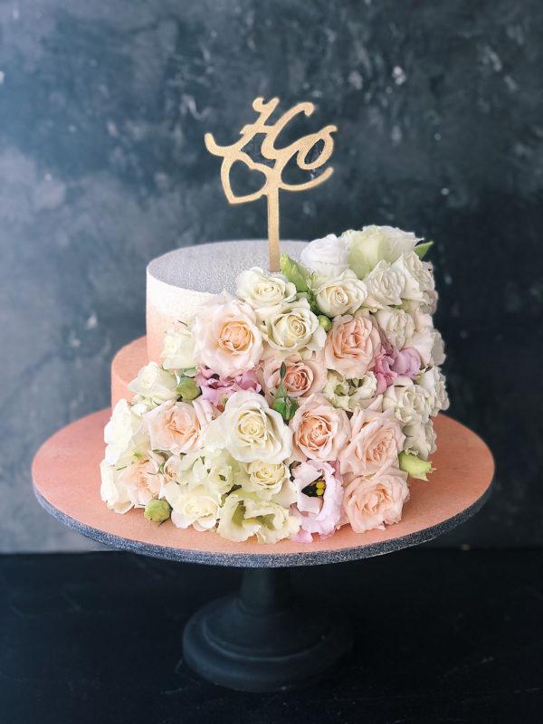 flowerweddingcake